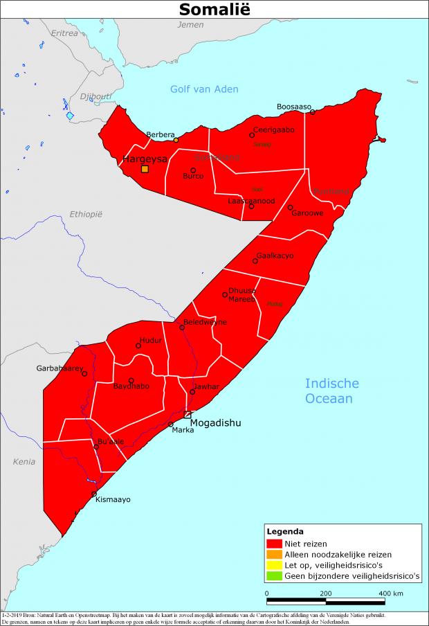 Reisadvies Somalië | Ministerie van Buitenlandse Zaken